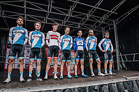Isra&euml;l Cycling Academy pre race team presentation<br /> <br /> 2nd Elfstedenronde 2018<br /> 1 day race: Brugge - Brugge 196.3km
