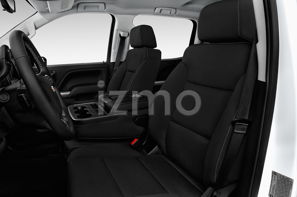 Front seat view of 2017 Chevrolet Silverado-1500 LT-Crew 4 Door Pick-up Front Seat  car photos