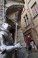 Europe/France/Aquitaine/24/Dordogne/Périgueux: Porte d'angle de la Maison Tenant ou Maison du Pâtissier