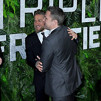 "03 March 2019 - New York, New York - Charlie Hunnam and Ben Affleck. The World Premiere of ""Triple Frontier"" at Jazz at Lincoln Center. Photo Credit: LJ Fotos/AdMedia"