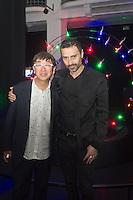 Fabio Novembre and Toyo Ito during the Lexus Design Amazing 2014, on April 08, 2014. Photo: Adamo Di Loreto/BuenaVista*photo