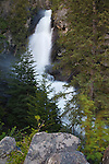 Holland Falls above Holland Lake in the Seeley Swan Valley of western Montana
