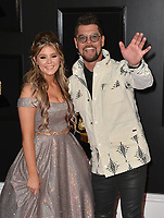 LOS ANGELES, CA - FEBRUARY 10: Ashleigh Taylor Crabb and Jason Crabb at the 61st Annual Grammy Awards at the Staples Center in Los Angeles, California on February 10, 2019. Credit: Faye Sadou/MediaPunch