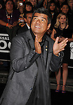 HOLLYWOOD, CA. - October 21: George Lopez arrives at the Hard Rock Cafe - Hollywood - Grand Opening on October 21, 2010 in Hollywood, California.
