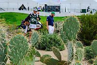 Tyrrell Hatton (ENG) on the 10th fairway during the 3rd round of the Waste Management Phoenix Open, TPC Scottsdale, Scottsdale, Arisona, USA. 02/02/2019.<br /> Picture Fran Caffrey / Golffile.ie<br /> <br /> All photo usage must carry mandatory copyright credit (© Golffile | Fran Caffrey)