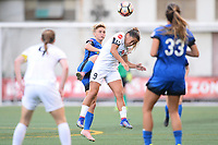 Seattle, WA - Saturday June 24, 2017: Jess Fishlock, Lo'eau Labonta during a regular season National Women's Soccer League (NWSL) match between the Seattle Reign FC and FC Kansas City at Memorial Stadium.