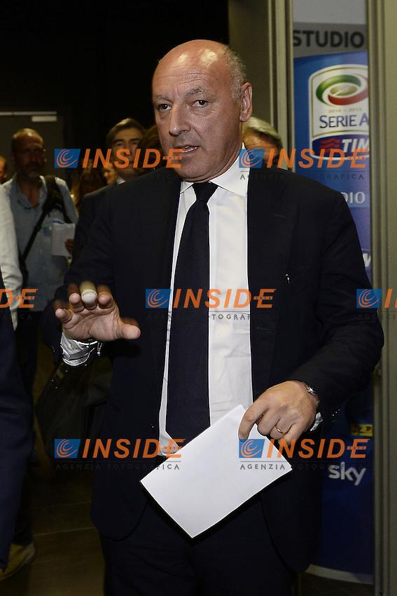 Milano 28/07/2014 - presentazione calendari serie A stagione 2014-2015 / foto Daniele Buffa/Image Sport/Insidefoto<br /> nella foto: Giuseppe Marotta