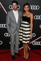 LOS ANGELES, CA - JANUARY 09: Iddo Goldberg, Ashley Madekwe at the Audi Golden Globe Awards 2014 Cocktail Party held at Cecconi's Restaurant on January 9, 2014 in Los Angeles, California. (Photo by Xavier Collin/Celebrity Monitor)