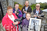 PAPPARAZZI: Members of the North Kerry & District Photographic Society who are holding an open night and display of photography at the Seanchai? Centre in Listowel on Friday, front l-r: Marie Rohan (Ballybunion), Laura Rohan (Ballybunion). Back l-r: David Phelan (Listowel), Paul O'Donoghue (Kilflynn), Pat Tobin (Listowel).