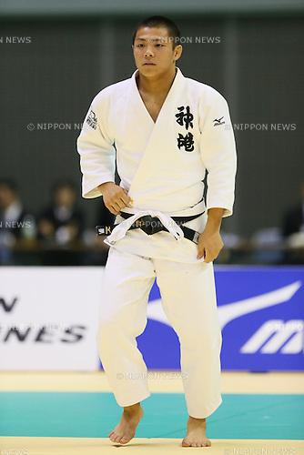Hifumi Abe, <br /> NOVEMBER 8, 2014 - Judo : <br /> Kodokan Cup 2014 <br /> Men's -66kg Final  <br /> at Chiba Port Arena, Chiba, Japan. <br /> (Photo by Yohei Osada/AFLO SPORT) [1156]