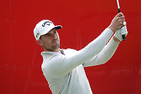 Haydn Porteous (RSA) watches his tee shot on the 16th hole during the final round of the Made in Denmark presented by Freja, played at Himmerland Golf & Spa Resort, Aalborg, Denmark. 26/05/2019<br />