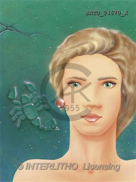 Alfredo, MODERN, zodiacs, paintings(BRTO04670/K,#N#) Sternzeichen, zodíaco, illustrations, pinturas
