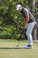 Rory McIlroy (NIR) sinks his putt on 2 during day 2 of the WGC Dell Match Play, at the Austin Country Club, Austin, Texas, USA. 3/28/2019.<br /> Picture: Golffile | Ken Murray<br /> <br /> <br /> All photo usage must carry mandatory copyright credit (© Golffile | Ken Murray)