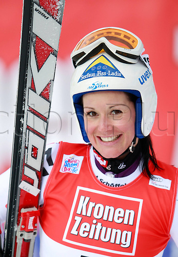 08 01 2012  Ski Alpine FIS WC Bath Kleinkirchheim Super G for women Bath Kleinkirchheim Austria  Picture shows Stefanie Koehle AUT