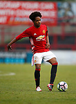 D J Buffonge of Manchester Utd during the U18 Premier League Merit Group A match at The J Davidson Stadium, Altrincham. Date 12th May 2017. Picture credit should read: Simon Bellis/Sportimage