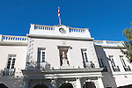 Parliament House building, Gibraltar, British overseas territory in southern Europe