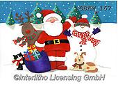 Kate, CHRISTMAS SANTA, SNOWMAN, WEIHNACHTSMÄNNER, SCHNEEMÄNNER, PAPÁ NOEL, MUÑECOS DE NIEVE, paintings+++++Christmas page 52 1,GBKM167,#x#
