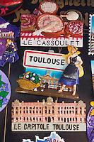 Europe/France/Midi-Pyrénées/31/Haute-Garonne/Toulouse: Souvenirs à l' image de la Ville de Toulouse: Magnets [Non destiné à un usage publicitaire - Not intended for an advertising use]