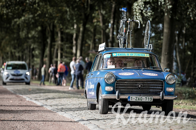 old team car from the Rik Van Steenbergen period.<br /> <br /> 23th Memorial Rik Van Steenbergen 2019<br /> One Day Race: Beerse > Arendonk 208km (UCI 1.1)<br /> ©kramon