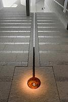 Heilige Quelle Helligdomskilden im Bornholm Kunstmuseum, Architekten Johan Fogh und Per F&oslash;lner  auf der Insel Bornholm, D&auml;nemark, Europa<br /> Holy spring Helligdomsskilden in Bornholm Arts-Museum, Isle of Bornholm Denmark