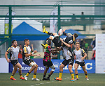 Penguins vs Tradition YCAC  GFI HKFC Rugby Tens 2016 on 07 April 2016 at Hong Kong Football Club in Hong Kong, China. Photo by Juan Manuel Serrano / Power Sport Images
