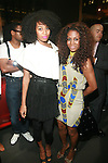 Zoe Himmel Davis and Zelma Davis  - Arrivals: New Premium Lounge Signed by INDASHIO Men's Collection Fashion Show at AUDI FORUM, NY  9/13/11