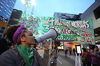 08.08.2018 - Protesto pela legalização do aborto em SP
