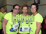 Annmarie McKeown, Niamh Cunningham and Susan Murray who took part in the Seamie Weldon 5K Run in Ardee. Photo:Colin Bell/pressphotos.ie