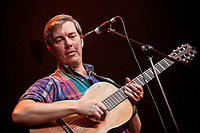 Bill Callahan playing in the beautiful surroundings of Hoxton Hall. The intimate format featured a two piece setup with Bill being joined by guitarist Matt Kinsey.