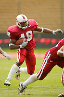Gerald Commissiong during the Spring Game on April 26, 2003 at Stanford Stadium.<br />