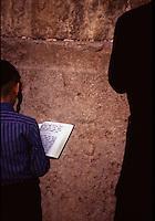 ISRAELE - Gerusalemme - Muro del pianto - Ebrei in preghiera