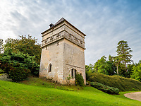 BNPS.co.uk (01202 558833)<br /> Pic: LeggettPrestige/BNPS<br /> <br /> PICTURED:  It has its own pigeon hut (dovecote).  <br /> <br /> Wealthy Brits have the perfect chance to escape to the chateau after a medieval castle with its own fortifications and coat of arms went on the market for £3.3million. (3.9m euros)<br /> Located in south west France, Chateau de Vouzan comes with an enormous 23 hectares of land which can be looked out upon from its turreted watchtowers.<br /> <br /> The 15th century chateau, in Angouleme, Charente, has been granted 'protected historic monument' status by the French government.
