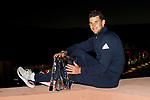 March 17, 2019: Dominic Thiem (AUT) holds the trophy after he defeated Roger Federer (SUI) 6-3, 3-6, 7-5 in the finals of the BNP Paribas Open at the Indian Wells Tennis Garden in Indian Wells, California. ©Mal Taam/TennisClix/CSM