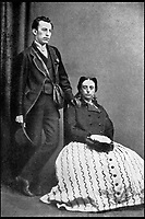 BNPS.co.uk (01202 558833)<br /> Pic: Harrods/BNPS<br /> <br /> Richard Burbidge and his wife on honeymoon in 1868.<br /> <br /> Harrods was almost shut down in the 1830s long before it became a worldwide name because of its founder's criminal dealings, a new book has revealed.<br /> <br /> In The Jewel of Knightsbridge, The Origins of the Harrods Empire, author Robin Harrod discovered his great great grandfather, Harrods founder Charles Henry Harrod, was on the brink of being deported to Australia for handling stolen goods in 1836.<br /> <br /> He was only saved from his sentence of seven years transportation (deportation) by a petition on his behalf which vowed he would turn his back on crime.<br /> <br /> The Jewel of Knightsbridge: The Origins of The Harrods Empire by Robin Harrod, published by The History Press, costs &pound;20 and will be released on February 13.