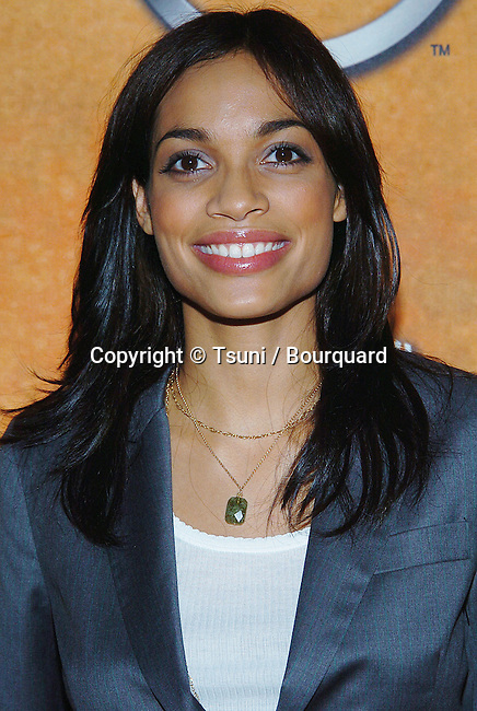 Rosario Dawson at the SAG Nominations at the Pacific Design Center in Los Angeles. .January 11, 2005.