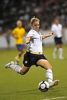 Amy Rodriguez...USWNT tied Sweden 1-1 at Morrison Stadium, Omaha Nebraska.