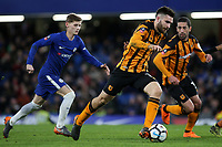 Jon Toral of Hull City races upfield during Chelsea vs Hull City, Emirates FA Cup Football at Stamford Bridge on 16th February 2018