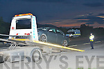 The accident that occourred on the Tralee to Killarney road on Friday night.