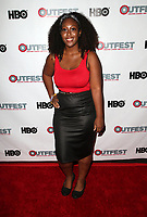 "WEST HOLLYWOOD, CA July 11- Michelle Sam,  At 2017 Outfest Los Angeles LGBT Film Festival Screening of ""Hello Again"" at The DGA Theater, California on July 11, 2017. Credit: Faye Sadou/MediaPunch"