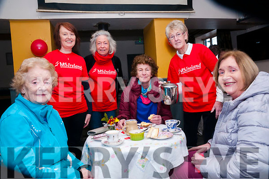 Valentine's Coffee Morning: Attending the Valentine's Coffee morniing in aid  of the North Kerr branch of the MS Society held at Tomasin's Bar, Liselton on Saturday morniing last were Margaret Gilbert, Cait Broderick, Jacinta Breen, Sharon Foot, Ann McCarthy& Veronica Long.