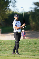 Erik Van Rooyen (RSA) on the 14th during the 1st round of the Abu Dhabi HSBC Championship, Abu Dhabi Golf Club, Abu Dhabi,  United Arab Emirates. 16/01/2020<br /> Picture: Fran Caffrey | Golffile<br /> <br /> <br /> All photo usage must carry mandatory copyright credit (© Golffile | Fran Caffrey)