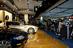 Media at the Maserati display at the North American International Auto Show, 2007