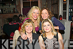 Sinead Dowling, Ashley Downs, Tralee (seated right) celebrated her birthday last Friday night in the Stone House restaurant, The Square, Tralee, also seated is Vera Sugrue. Back l-r: Maggie Morrissey and Karen O'Connor.