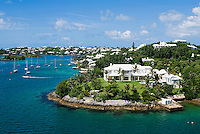 Luxury houses, Bermuda