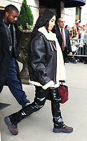 NEW YORK, NY- NOVEMBER 7: Kanye West and Kim Kardashian West seen leaving the Ritz Carlton in New York City on November 07, 2019.     <br /> CAP/MPI/RW<br /> ©RW/MPI/Capital Pictures