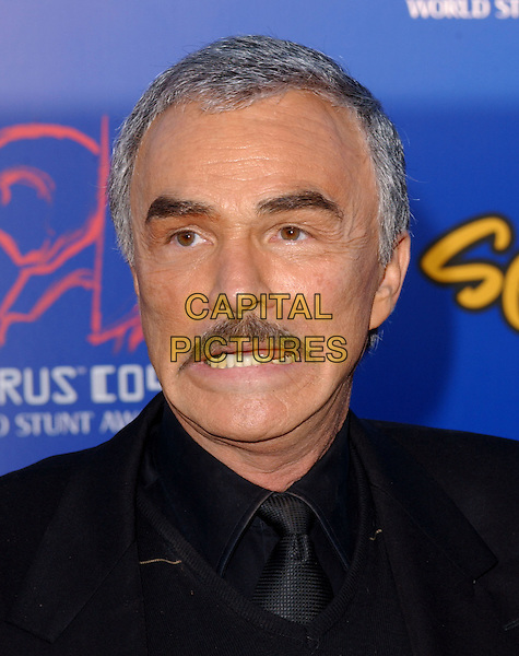 BURT REYNOLDS .The 4th Annual Taurus World Stunt Awards held at The Paramount Picture Studios in Los Angeles California .May 16,2004.headshot, portrait, mustache, funny face.www.capitalpictures.com.sales@capitalpictures.com.©Capital Pictures
