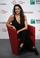 La regista argentina Barbara Sarasola-Day posa durante il photocall per la presentazione del suo film &quot;White Blood&quot; al Festival Internazionale del Film di Roma, 19 ottobre 2018.<br /> Argentinian director Barbara Sarasola-Day poses during the photocall of her movie &quot;White Blood&quot; during the international Rome Film Festival at Rome's Auditorium, on October 19, 2018.<br /> UPDATE IMAGES PRESS/Isabella Bonotto