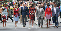 NEW YORK, NY-September 28: ,Hoda Kotb, Kathie Lee Giffortd, Matt Lauer,Savannah Guthrie, Al Roker, Tamron Hall, Billy Bush at  Today Show Commerical at 30 Rockefeller  Center Plaza in New York. September 28, 2016. Credit:RW/MediaPunch