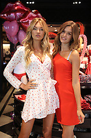 SANTA MONICA, CA - FEBRUARY 6: Victoria&rsquo;s Secret Angels Josephine Skriver and Romee Strijd celebrate V-Day Me-Day from the all new Dream Angels and Very Sexy Collections at the Victoria's Secret Store in Santa Monica, California on February 6, 2018. <br /> CAP/MPI/FS<br /> &copy;FS/MPI/Capital Pictures