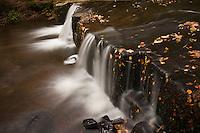 Waterfall, Lower Blean-Y-Glyn valley, Brecon Beacons national park, Wales